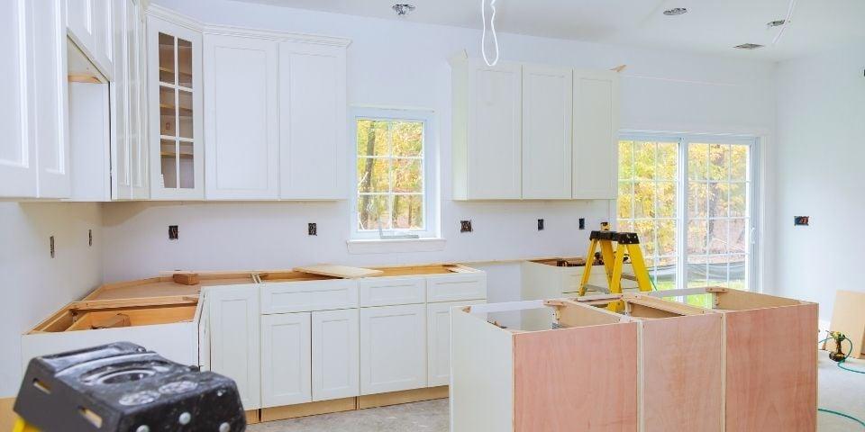 Kitchen Being Remodeled