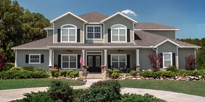 Front Elevation Designs & Styles to Inspire Your New Home Build in Gainesville