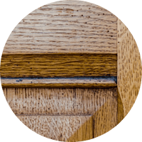 Oak wood kitchen cabinetry