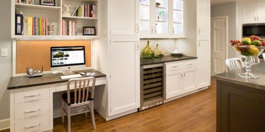 Kitchen counter desk