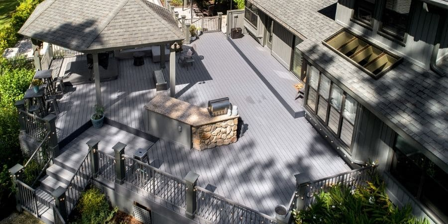 Millhopper Estates Outdoor PatioDeck