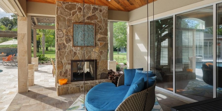 Outdoor Living Space Gainesville Remodel