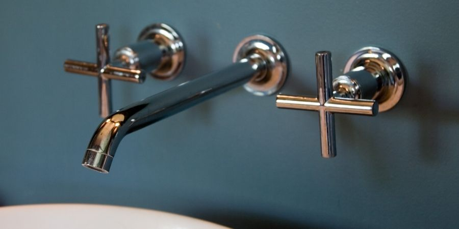 wall mounted sink faucet