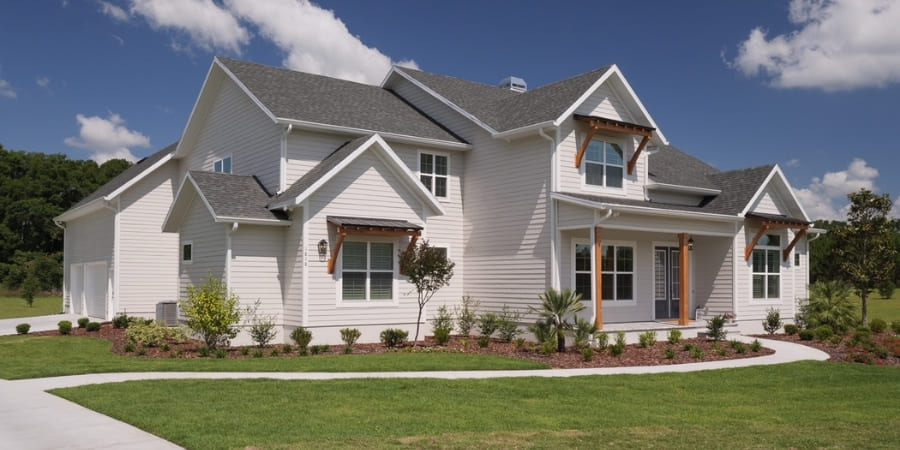 Modern Minimalism - 10 Front Elevation Styles to Inspire Your New Home Build | RRCH, Inc.