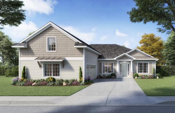 Lot 12 New Home in Fletcher Park, Gainesville Florida